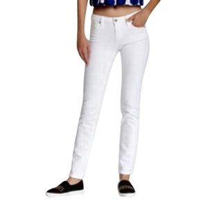 Kate Spade Perry Street White Skinny Jeans, 28